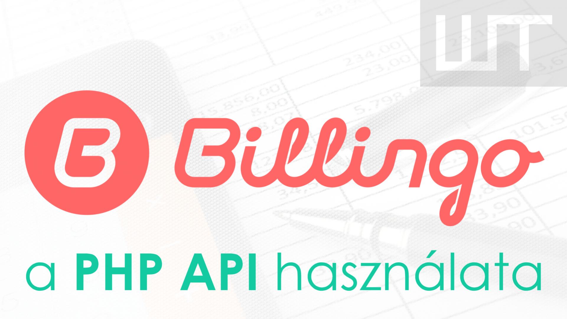 Billingo - számlázás PHP API-val