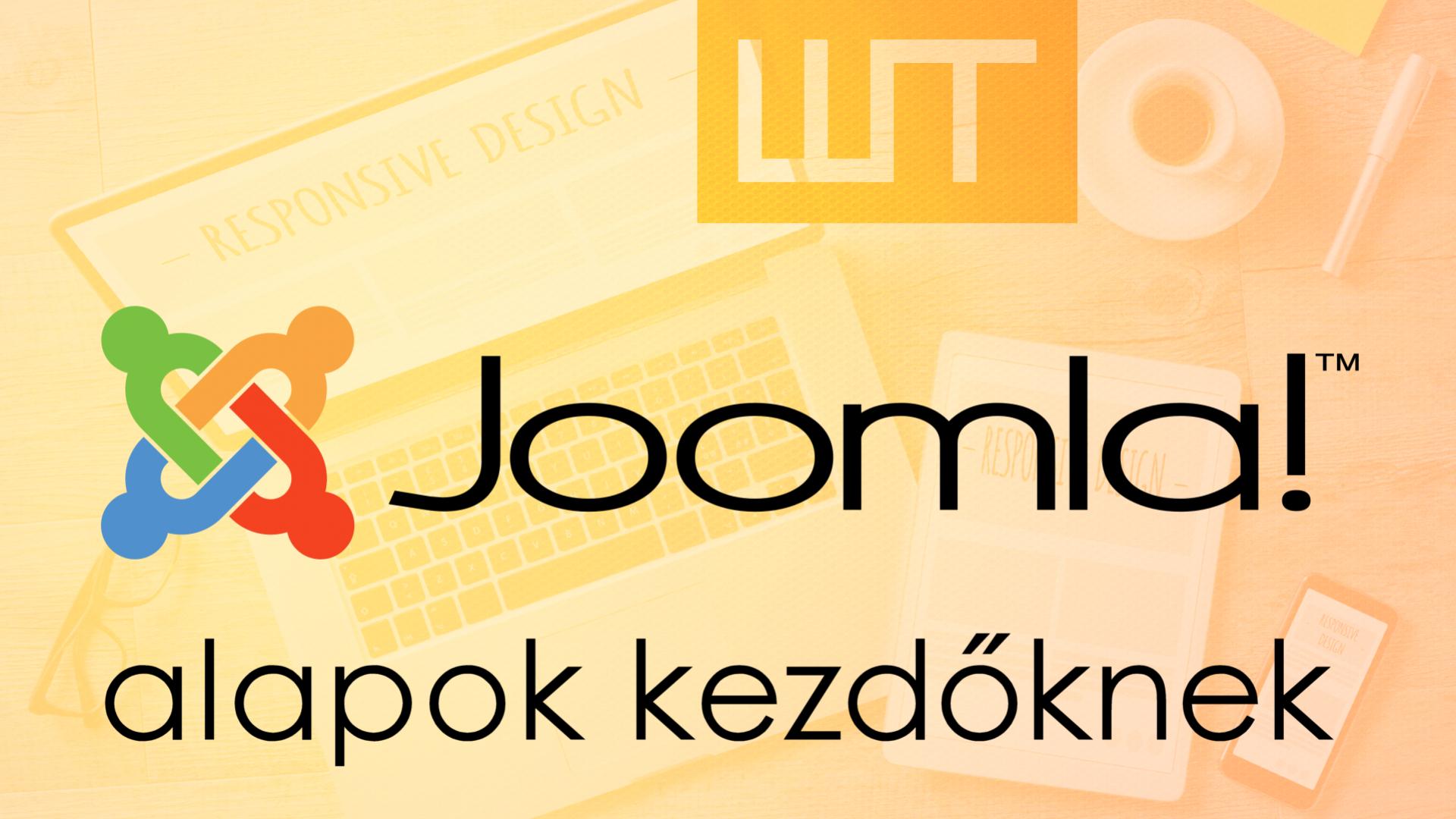 A Joomla alapjai kezdőknek