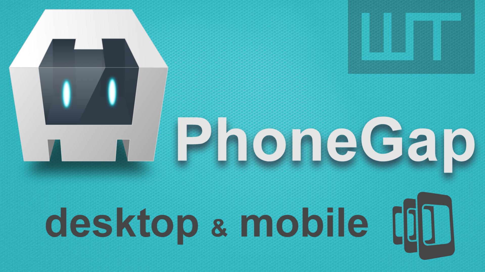 PhoneGap Desktop - mobil app tesztelés